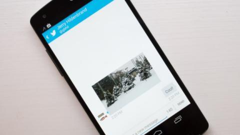 Actualización de Twitter permite enviar fotos por DM