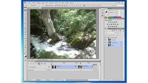 Corta y une tus vídeos con Photoshop CS6