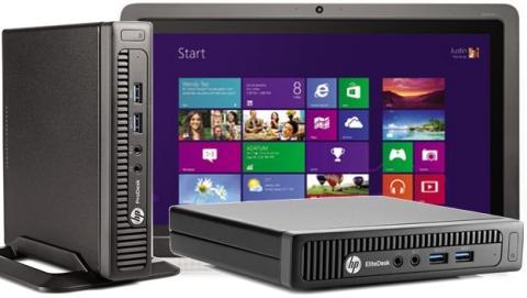 HP EliteDesk y ProDesk, los PCs más pequeños el mundo