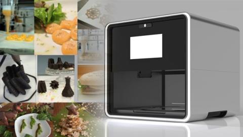 Foodini: la primera impresora de comida 3D española