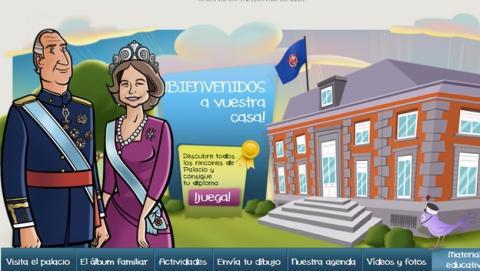 La web de la Casa Real estrena un Área Infantil con actividades para los niños