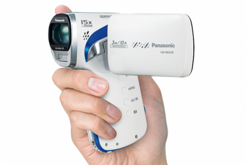 Óptica y sensor de la videocámara