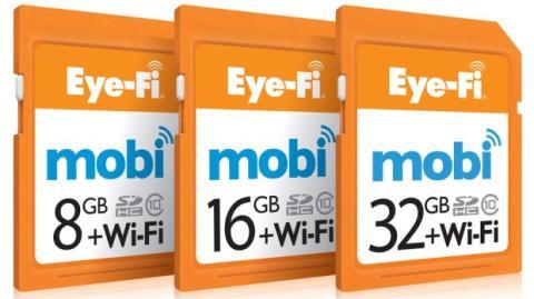 Tarjetas Eye-Fi Mobi
