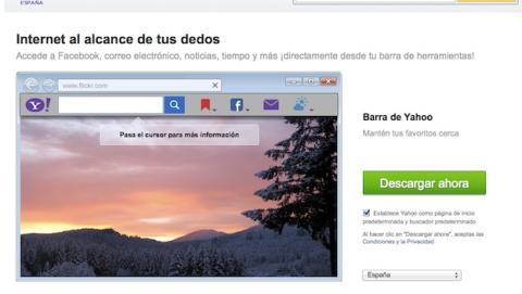 Cómo eliminar Yahoo! Toolbar