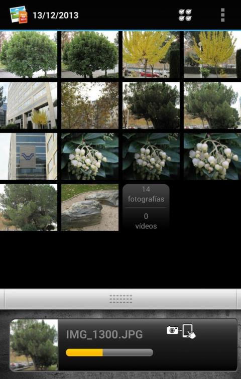 Bandeja de fotos Eye-Fi