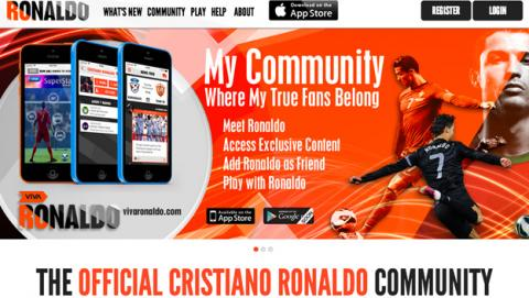 Cristiano Ronaldo lanza su propia red social: Viva Ronaldo.
