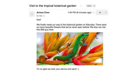 Gmail sube las fotos de los emails a sus servidores antes de mostrártelas