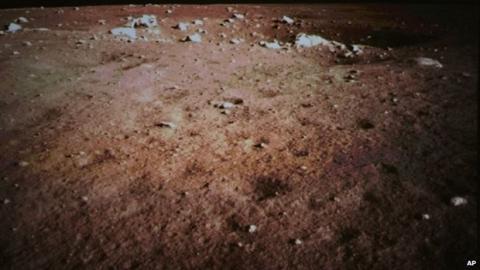 China aterriza en la Luna