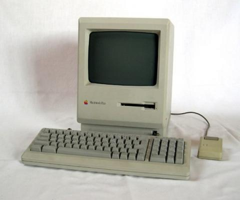 Mac Plus. Foto: Wikipedia
