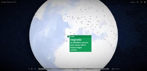 Tendencias mundiales Google