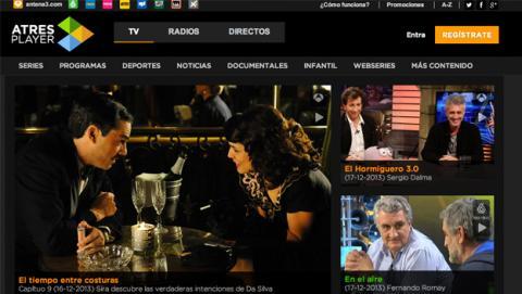 ATRESPLAYER, la nueva plataforma de contenidos online