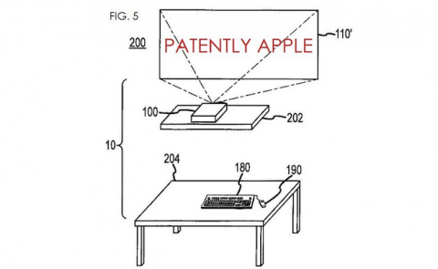 Apple proyector inteligente