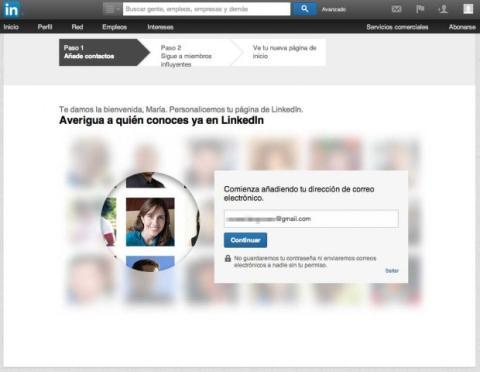 Captura LinkedIn