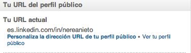 Personalizar URL LinkedIn
