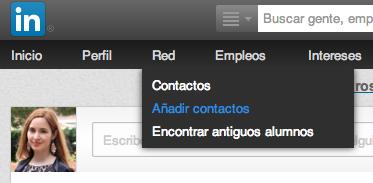 Añadir contactos LinkedIn