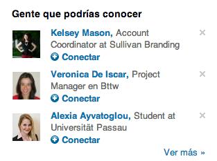 Gente que podrías conocer LinkedIn