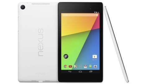 Nexus 7 en color blanco, la nueva tablet de ASUS y Google