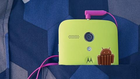 Moto G se actualiza a Android 4.4.2 KitKat