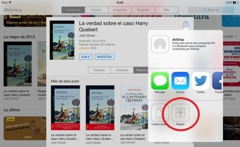 Regalos iBooks