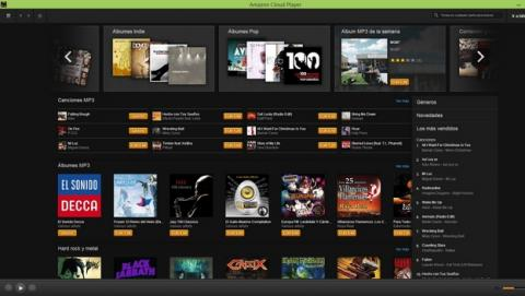 Amazon Cloud Player, ahora disponible como un programa para PC y Mac