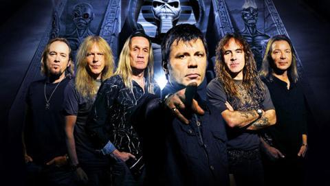 Iron Maiden aprovecha la piratería para programar conciertos