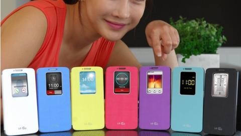 Smartphone LG G3, smartwatch y pulsera de fitness, lo nuevo de LG en 2014