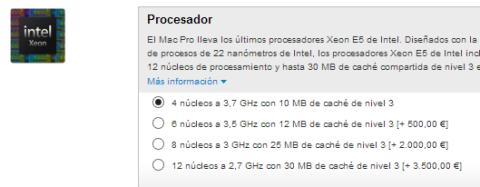 cpu mac pro