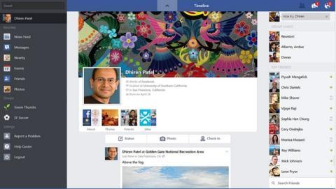 Actualización de Facebook en Windows 8.1, ahora con álbumes de fotos