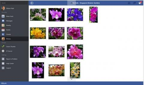 Facebook en Windows 8.1