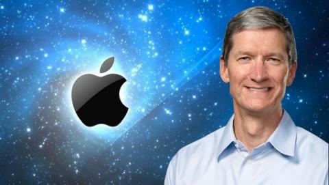Tim Cook, CEO de Apple, ha cobrado 4,25 millones dólares en 2013