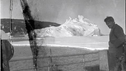 Descubren fotos perdidas en la Antártida durante 100 años
