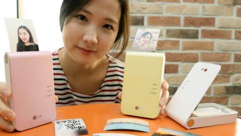 LG Pocket Photo Printer 2.0, la impresora de bolsillo para imprimir las fotos del móvil al instante.