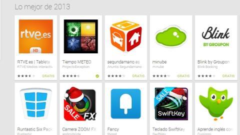 Google Play España elige las mejores apps de 2013