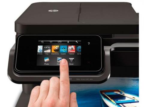 pantalla impresora