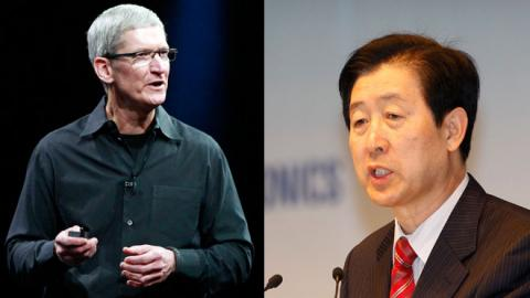 Tim Cook Choi Gee-Sung