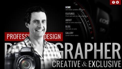 Las 10 mejores plantillas de Joomla para fotógrafos