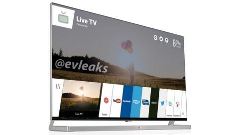 El primer televisor de LG con webOS TV, listo para CES 2014