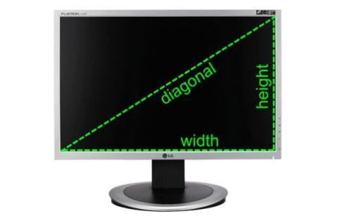 Pulgadas monitor
