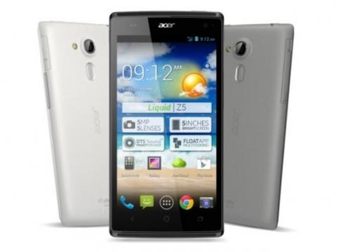 Nuevo Acer Liquid Z5 debutará en CES 2014