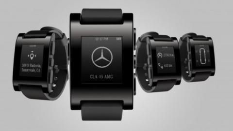 Pebble de Mercedes. CES 2014