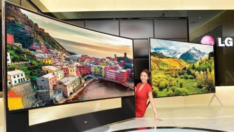 LG estrena siete nuevos televisores UltraHD o 4K en CES 2014, con pantalla curva o plana