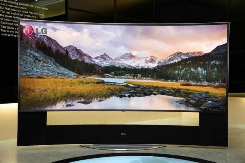LG Ultra HD 4K CES 2014