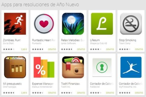 Apps Año Nuevo Google Play