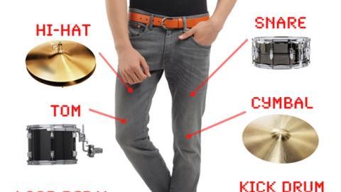 DrumPants: una orquesta escondida bajo tus pantalones