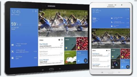gamas Samsung Galaxy Note PRO y Tab PRO