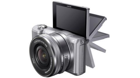 Sony A5000_Pantalla abatible