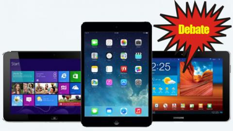 ¿Qué tablet prefieres? ¿iPad, Android o Windows Phone?