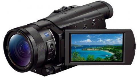 Handycam AX100E 4K