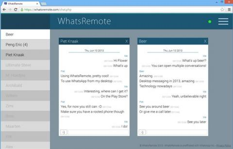 whatsapp desde el ordenador