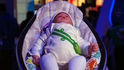 El pijama inteligente para bebés, de Intel